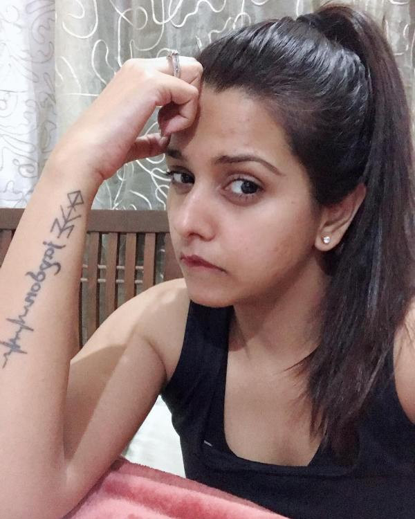Dalljiet Kaur's tattoo