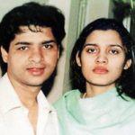 Suhaib Ilyasi with his wife Late Anju