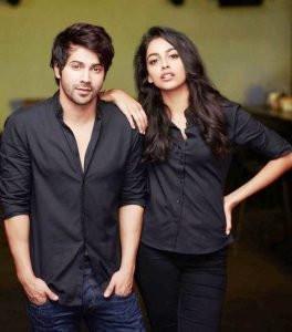 Banita Sandhu with Varun Dhawan