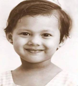 Childhood image of Rochelle Rao