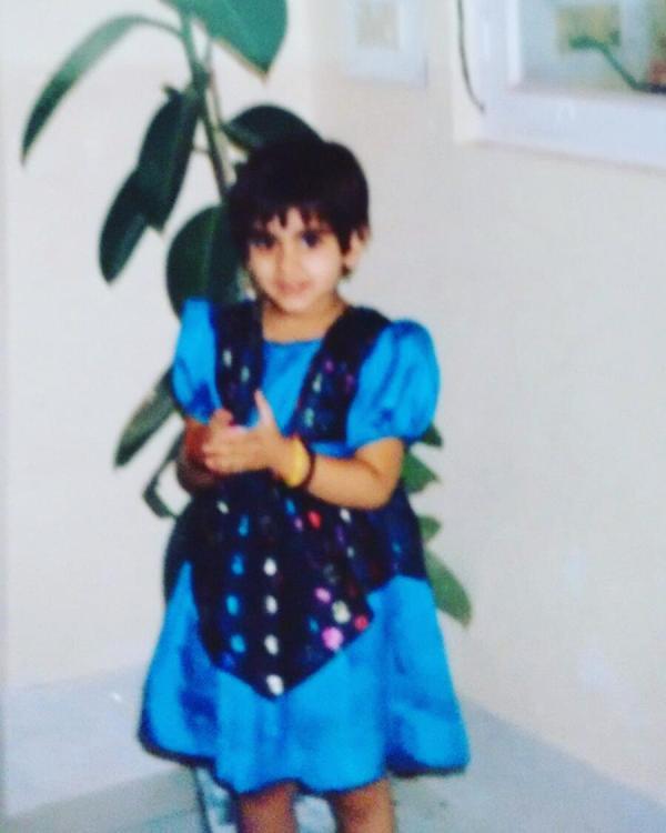 Priyanka Chibber's childhood picture