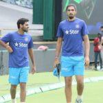 Bhuvneshwar Kumar and Ishant Sharma