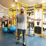 Amit Tiwari at a gym