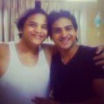 Pushkar Jog with his father