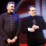 Abu Jani & Sandeep Khosla honored at Asian Awards 2010