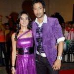 Priya Bathija with her ex-husband Jatin Shah