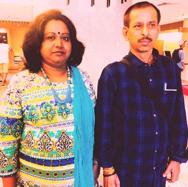 Alya Manasa's Parents