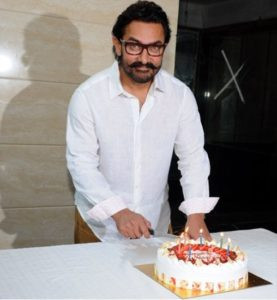 Aamir Khan 52nd Birthday Picture