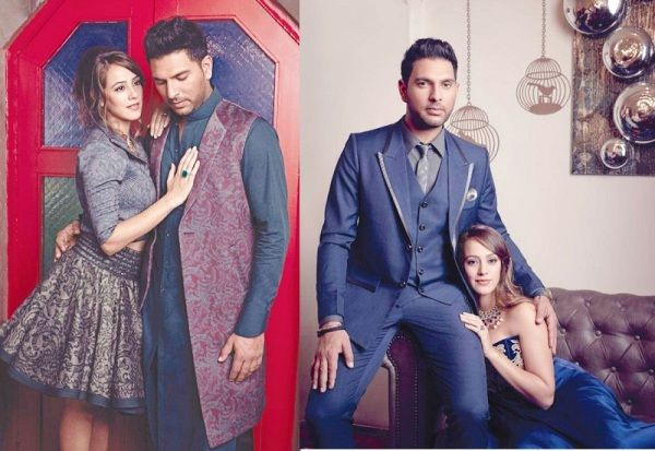 Yuvraj Singh & Hazel Keech pre-wedding photoshoot