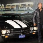 Dwayne with his car 1971 Chevrolet Chevelle SS