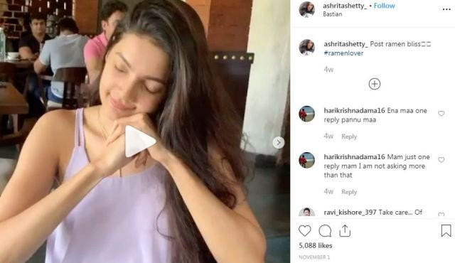 Ashrita Shetty's Instagram post