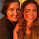 Keziah Daum With Her Mother