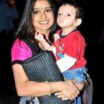 Malavika Avinash with her son Gaalav Yelandur