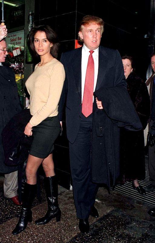 Donald Trump with Kara Young
