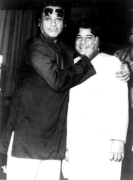 Anup Jalota with Kishore Kumar