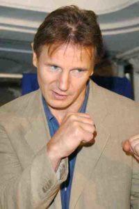 Liam Neeson Boxing