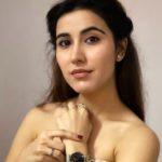 Sheena Bajaj wearing Daniel Wellington watch