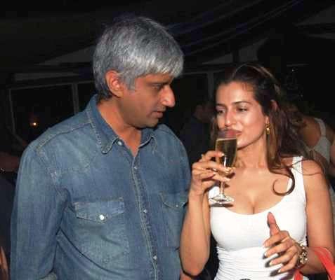 Ameesha Patel drinks alcohol