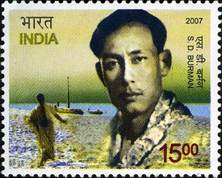 S . D. Burman's Commemorative Postage Stamp