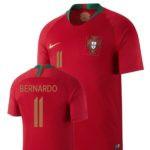 Bernardo Silva's Portugal Jersey