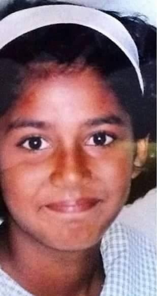 Childhood picture of Mathira