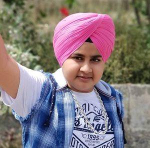 Ajit Singh wearing turban