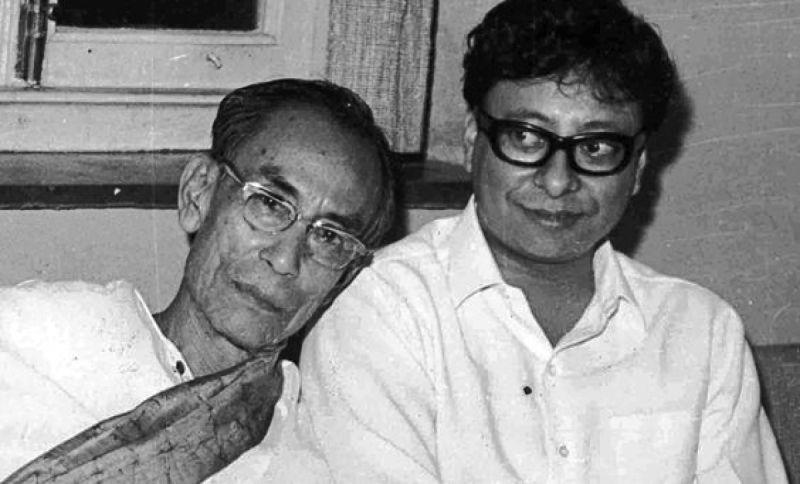 S. D. Burman With His Son R. D. Burman