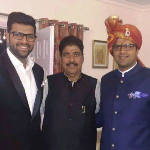Ajay Singh Chautala with his Sons