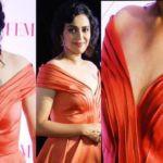 Swara Bhaskar - Madhubani folk art representation of Sun tattoo on left chest