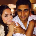 Mohnish With His Wife
