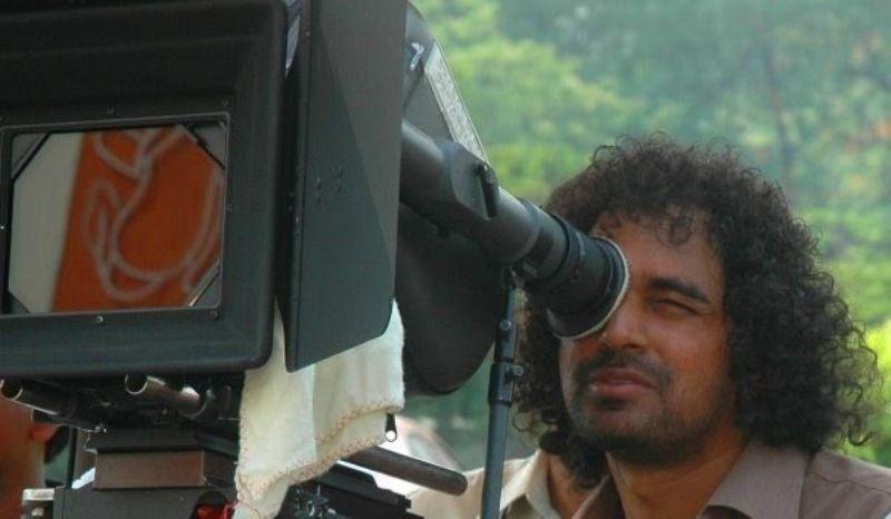 Krish during the shooting of Gamyam
