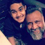 Anubhav Sinha With His Son