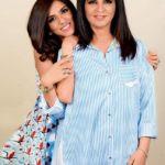 Neeta Lulla with her Daughter