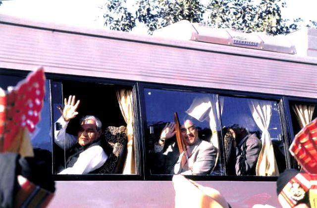 Atal Bihari Vajpayee Lahore Bus Journey