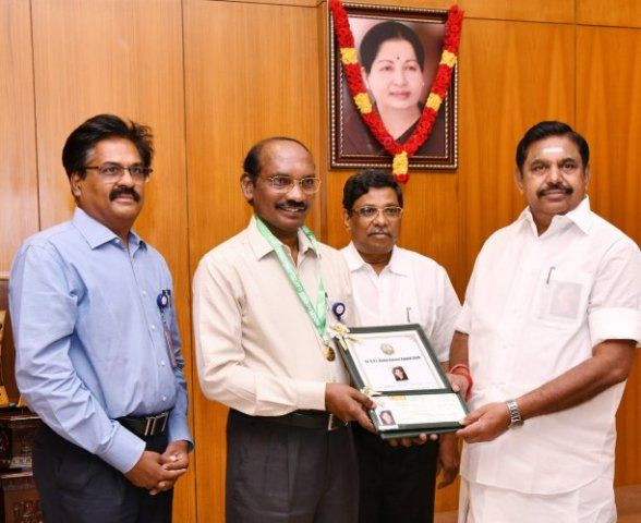 Sivan was presented with Kalam Award