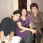 Arjun With His Wife and Son