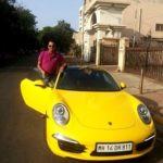 Rahul Mahajan's Porsche 911 car