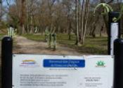Greoux les Bains : parcours santé au bord du Verdon