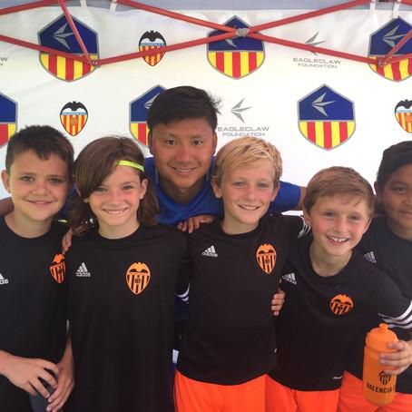 Eagleclaw Hosts Valencia CF Summer Academy
