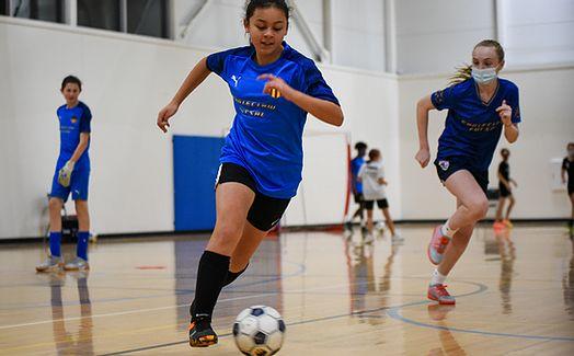 Futsal player photo