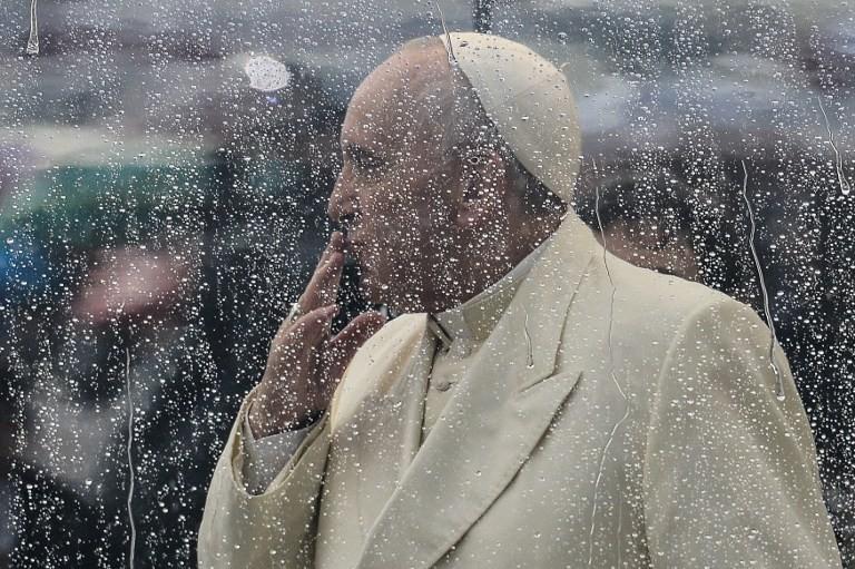 Dentelle d'eau sur le Pape