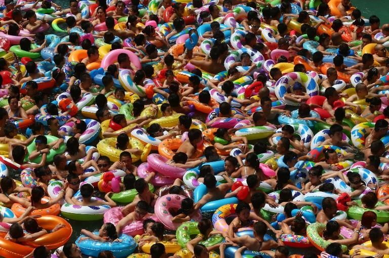 China summer colors