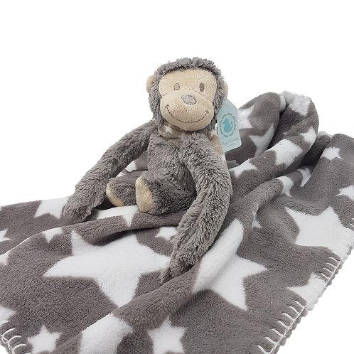 Monkey & Blanket - Poppy & Duckling