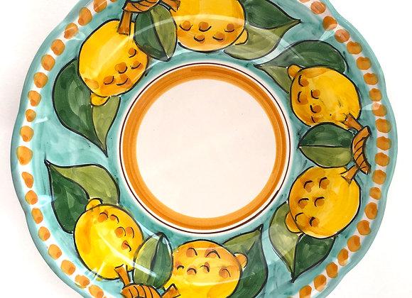 Deep (pasta) plate Positano design