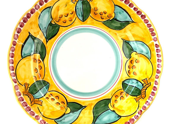 Deep (pasta) plate Amalfi design
