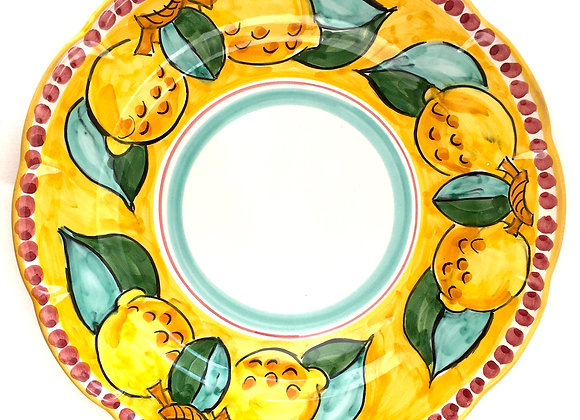 Dinner plate Amalfi design