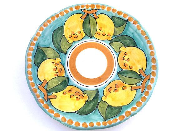 Dessert plate Positano design