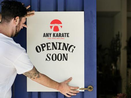 Starting a Martial Arts Club