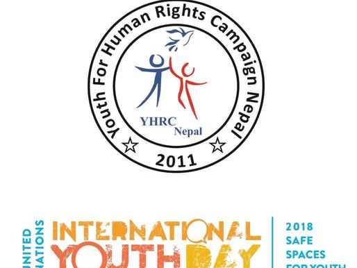 YHRC NEPAL Celebrates #InternationalYouthDay