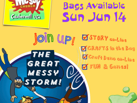 """""""Messy Church in a Bag"""" is HERE!"""